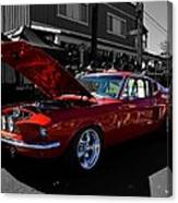 Shelby Gt 500 Mustang Canvas Print