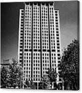 shell centre tower and jubilee gardens southbank London England UK Canvas Print