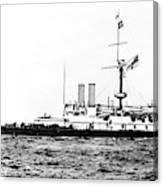 Ships Hms 'victoria Canvas Print