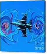 Shock And Awe Canvas Print