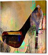 Shoe Art Canvas Print