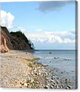 Shore Of Lake Erie Canvas Print