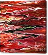 Showpiece Waves Canvas Print