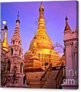 Shwedagon Paya - Yangoon Canvas Print