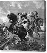 Siege Of Yorktown, 1781 Canvas Print