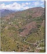 Sierra De Almijara Hills Canvas Print