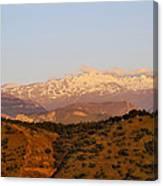 Sierra Nevada Canvas Print