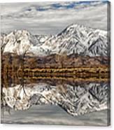 Sierra Reflections Canvas Print