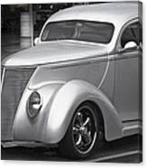 Silver Ford Canvas Print