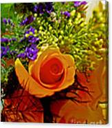 Simply Rose Canvas Print