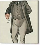 Sir William Jenner Canvas Print
