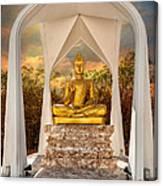 Sitting Buddha Canvas Print