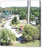 Six Flags America - 12121 Canvas Print