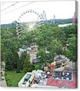 Six Flags Great Adventure - 12125 Canvas Print