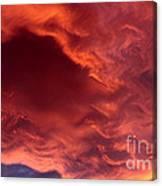 Sky Fire Canvas Print
