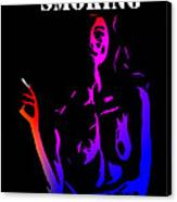 Smoking Kills  Canvas Print