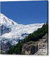 Snow Glacier Canvas Print