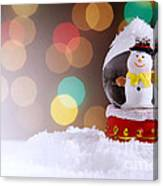 Snow Globe Canvas Print