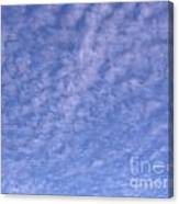 Soft Clouds In The Blue Sky Canvas Print