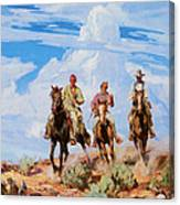 Sons Of The Desert Canvas Print