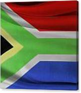 South African Flag  Canvas Print