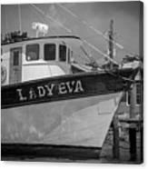 Southern Shrimp Tides Canvas Print
