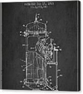 Space Capsule Patent From 1963 Canvas Print