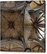 Spain. Barcelona. Church Of Santa Mar�a Canvas Print