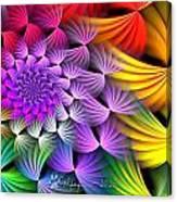 Spiral Swirls Canvas Print
