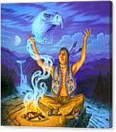 Spirit Of The Eagle Canvas Print