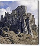 Spissky Hrad Castle Canvas Print