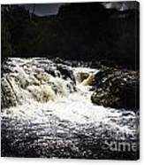 Splashing Australian Water Stream Or Waterfall Canvas Print