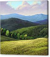 Spring Hills Canvas Print