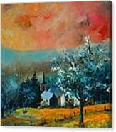 Spring In Gendron Canvas Print