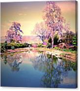 Spring In The Gardens Canvas Print