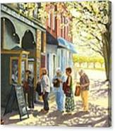 Spring Screening Canvas Print