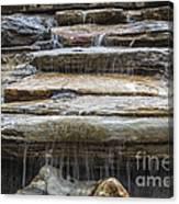 Spring Waterfall Canvas Print