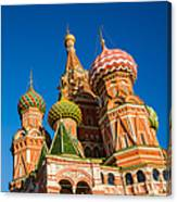 St. Basil's Cathedral - Square Canvas Print