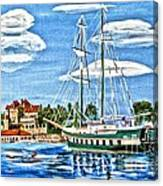 St Lawrence Waterway 1000 Islands Canvas Print