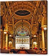 St. Leonard's Church....boston Canvas Print
