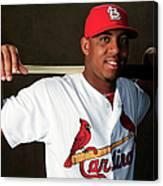 St. Louis Cardinals Photo Day Canvas Print