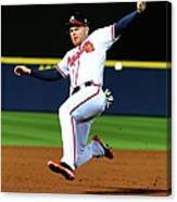 St. Louis Cardinals V Atlanta Braves Canvas Print