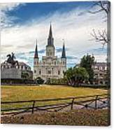 St. Louis Cathedral IIi Canvas Print