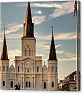 St. Louis Cathedral Va Canvas Print