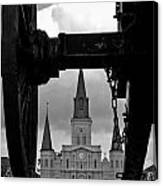 St. Louis Cathedral Vii Canvas Print