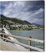 St Moritz Canvas Print