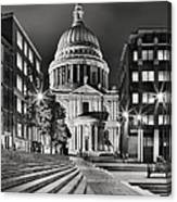 St Paul's London Canvas Print
