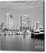 St Petersburg Yacht Basin Canvas Print