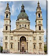 St. Stephen's Basilica In Budapest Canvas Print