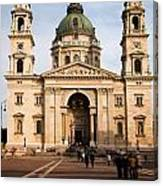 St Stephen's Basilica In Budapest Canvas Print